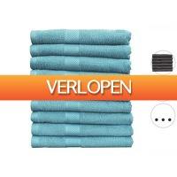 iBOOD.be: 9 x Seashell handdoek