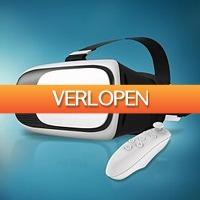 MegaGadgets: VR bril 2.0 met Bluetooth afstandsbediening