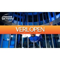 SocialDeal.nl: 3 sessies indoor skydiving