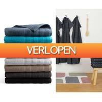 Voordeelvanger.nl 2: Seashell Pure handdoeken of badlakens
