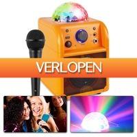 MaxiAxi.com: Vonyx SBS50 L karaokeset met microfoon