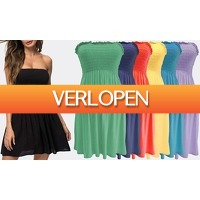 Groupon 2: Strapless mini-jurk