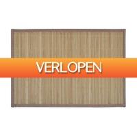 VidaXL.nl: 6 x vidaXL bamboe placemats