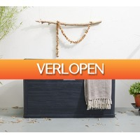 Koopjedeal.nl 3: Opbergkist met houtlook