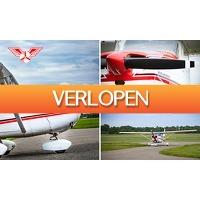 SocialDeal.nl: Vliegbeleving (15, 30 of 50 min)