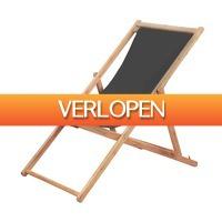 VidaXL.nl: vidaXL strandstoel