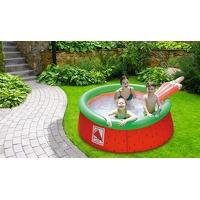 Bekijk de deal van ActieVandeDag.nl 2: Opblaasbaar zwembad watermeloen