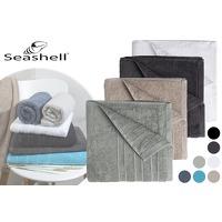Bekijk de deal van VoucherVandaag.nl: Seashell Luxor Deluxe handdoeken