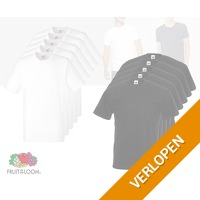 12 x Fruit of the Loom T-shirts