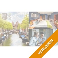 VIP-overnachting voor 2 in Haarlem + ontbijt + borrelplank