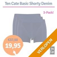 Ten Cate Basic Shorty Denim 3-pack