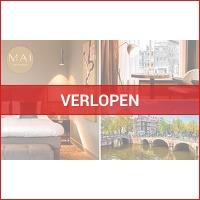Luxe overnachting voor 2 in hartje Amsterdam