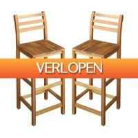 VidaXL.nl: 2 x vidaXL barstoelen