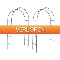 VidaXL.nl: 2 x vidaXL tuinbogen