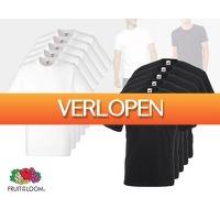 Voordeelvanger.nl: 12 x T-shirts van Fruit Of The Loom