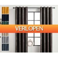 Voordeelvanger.nl: Luxe velvet gordijn