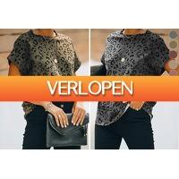 VoucherVandaag.nl: Panterprint damestop