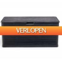 Koopjedeal.nl 1: Opbergkist met houtlook