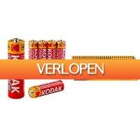 Koopjedeal.nl 2: 60-pack Kodak super heavy duty batterijen