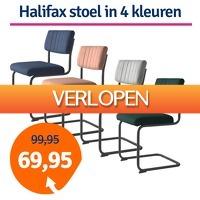 1dagactie.nl: Halifax eetkamerstoel in 4 kleuren