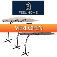 One Day Only: Grote en stevige zweefparasol