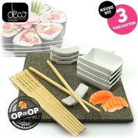 Bekijk de deal van voorHAAR.nl: 13-delige sushiset