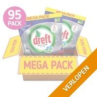 95-pack Dreft Platinum Plus vaatwascapsules