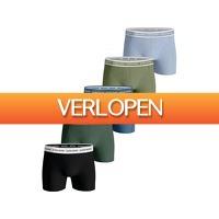 iBOOD Sports & Fashion: 5 x Bjorn Borg Sammy solid boxershort