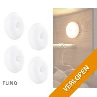4 x Flinq motion LED lampen