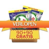 Voordeelvanger.nl: 180 x Dreft vaatwastabletten Regulier of Citroen