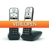 Expert.nl: Gigaset dect telefoon A690 Duo zwart/zilver