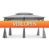 Koopjedeal.nl 3: Luxe tuinpaviljoen inclusief LED-verlichting