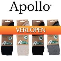One Day Only: 3 paar Apollo biologisch katoenen sokken