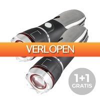 Actie.deals 2: Multi Torch Power zaklamp 1+1 gratis