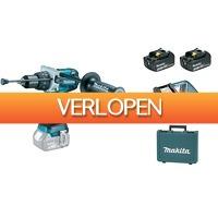 Gereedschapcentrum.nl: Makita DHP481RFE 18V Li-Ion accu klopboor-/schroefmachine set (2x 3.0Ah accu) in koffer - 115Nm - koolborstelloos