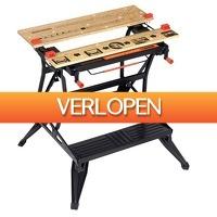 Gereedschapcentrum.nl: Black+Decker WM825 Workmate - 250kg