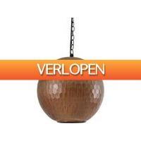 Dagaanbieding: PTMD Hanglamp Honeycomb - Koper