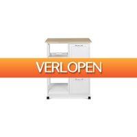 Koopjedeal.nl 3: Multifunctionele keukentrolley