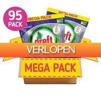 Koopjedeal.nl 1: 95-pack Dreft Platinum Plus vaatwascapsules