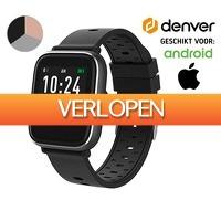 Koopjedeal.nl 2: Smartwatch van Denver met Bewegingstracking en slaapanalyse | Geschikt voor Android & iPhone
