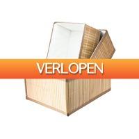DealDonkey.com 4: Opbergmand (Set van 3)
