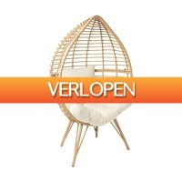 Xenos.nl: Egg chair naturel