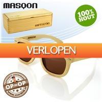 voorHEM.nl: Masqon houten zonnebril