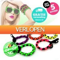 voorHAAR.nl: 5 hippe fluorescerende armbanden