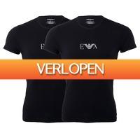 Plutosport offer: 2 x Emporio Armani T-shirt