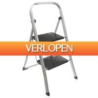 Voordeeldrogisterij.nl: Excellent Housewares inklapbare keukentrap