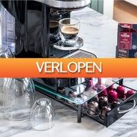 Elkedagietsleuks Ladies: Koffie cups houder met lade