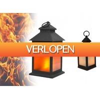 DealDonkey.com 3: Benson LED Lantaarn - Flame Effect