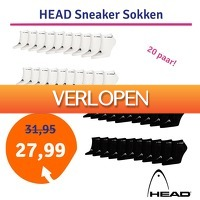 1dagactie.nl: Head sneaker sokken 20-pack