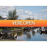 Traveldeal.nl: Verblijf aan het water op Vakantiepark Giethoorn